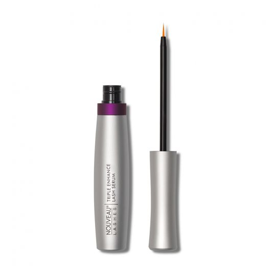 Triple enhance lash serum lid off Nouveau Lashes