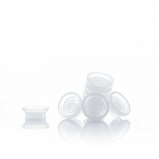 Shallow Adhesive Cups (Pack of 100) Image