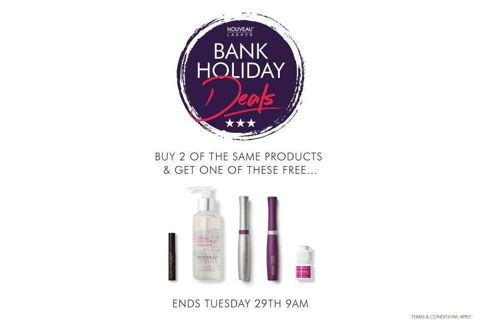 Bank Holiday Offers, Buy 2 Get A Free Gift
