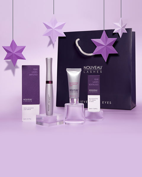 Xmas gift set Nouveau Lashes