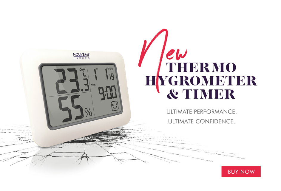NEW Thermo Hygrometer with Timer